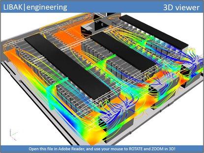 CFD analyse af Datacenter