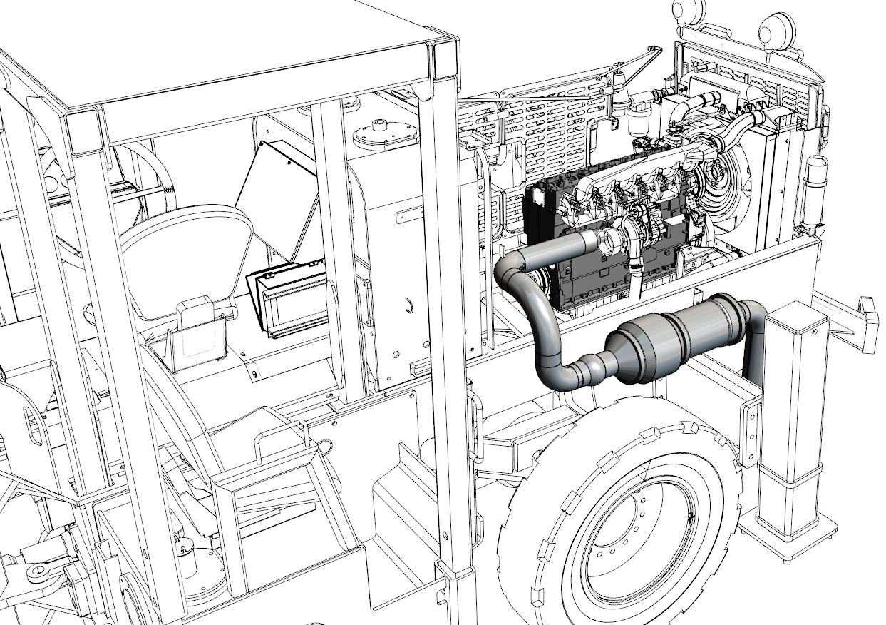 DPF illustration