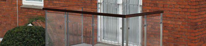3D scanning af bygning med altan